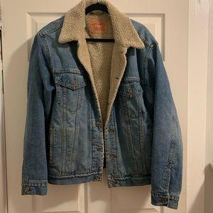 Levi's Sherpa Lined Denim Jacket
